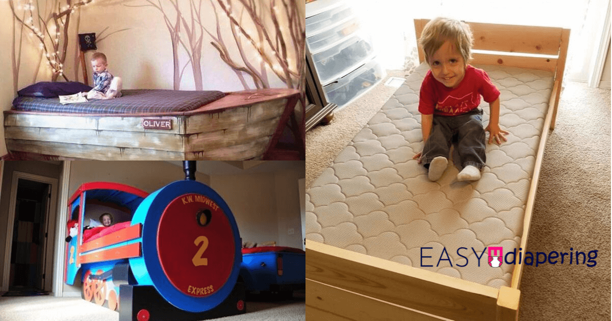 DIY Toddler Bed Ideas Featured Image